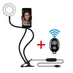 Ring Light Com Suporte Celular E Controle Bluetooth