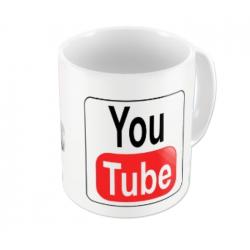 Caneca Porcelana Youtuber lll