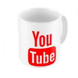 Caneca Porcelana YouTube IV