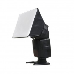Difusor Mini Softbox para Flash Dedicado Modelo Universal