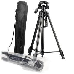 Tripé TR-672A Com Bag Para Câmeras Nikon Canon Sony 1,70m Suporta 2,75kg