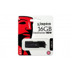 Pen Drive Usb 2.0 Kingston Dt104/16gb Datatraveler 104 16gb
