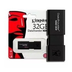 Pendrive Kingston 32gb Datatraveler Usb 3.1 Dt100 G3