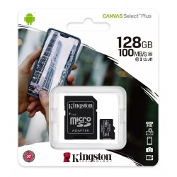 Cartão Micro Sd Xc Kingston 128gb Classe 10 Ultra 100mb/s