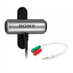 Microfone Sony Ecm-cs3 Com Adaptador P2M-P2F Mais Extensor 5M